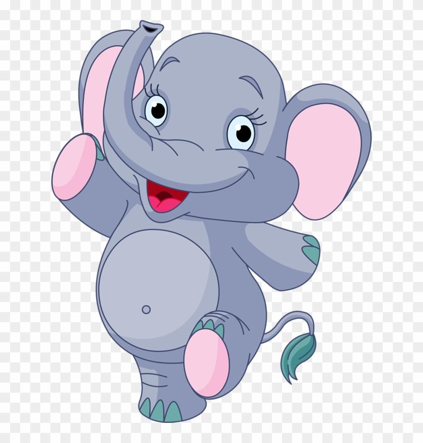 Яндекс - Фотки - Cute Baby Elephant Cartoon #581101
