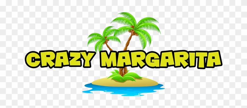 Crazy Margaritas Dfwlogo - Coconut Tree Clipart Png #581109