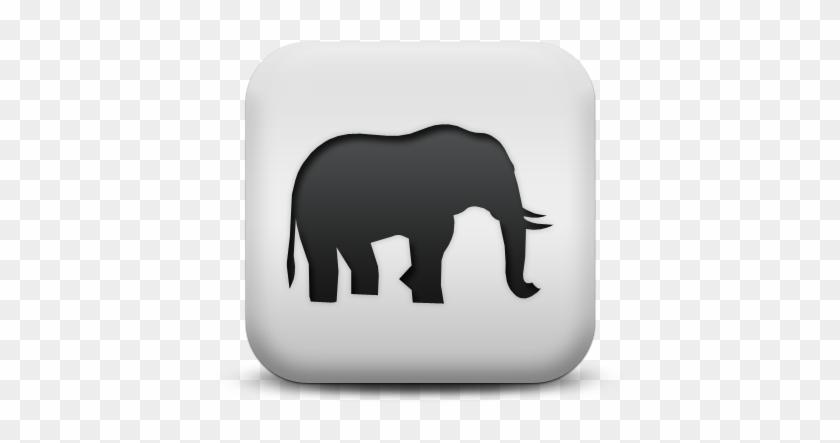 Indian Elephant African Elephant Computer Icons Mammoth - Indian Elephant #581184