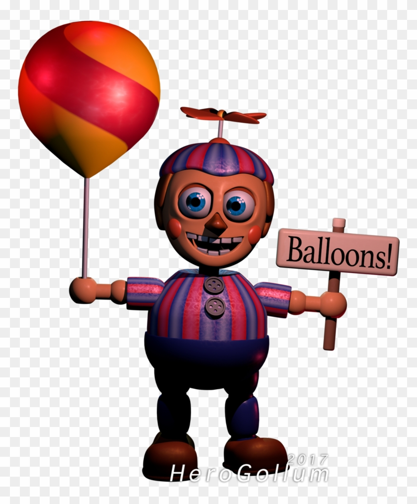 Cinema 4d Download - Balloon Boy Five Nights At Freddy's 4 - Free