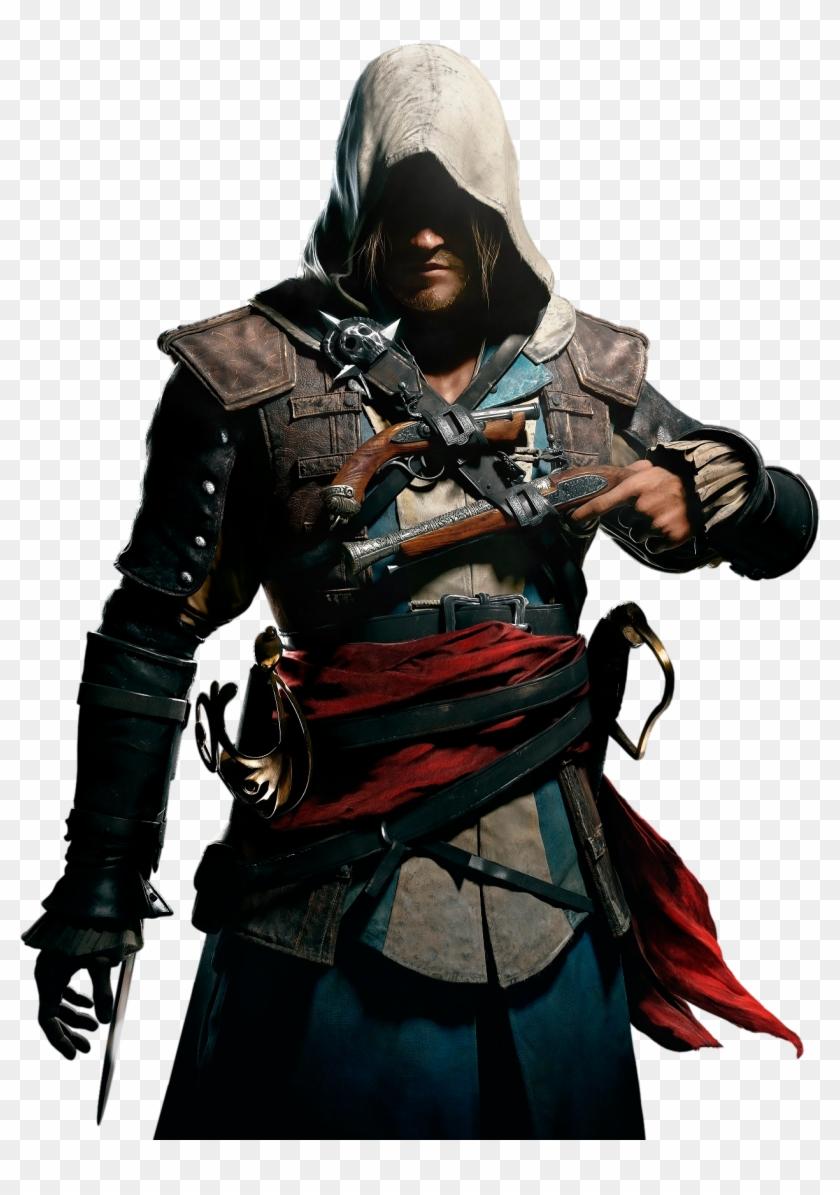 Edward Kenway Assassin S Creed Black Flag Png Free Transparent