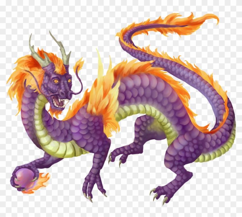 53678856 - >> - Purple Japanese Dragon #581798