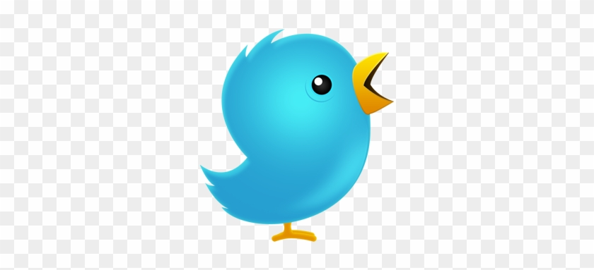350 Pixels - Twitter Bird Transparent Background #582180
