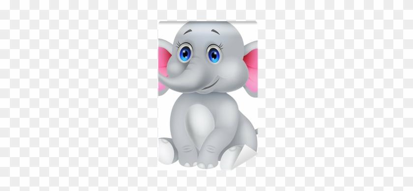Fotomural Cute Dibujos Animados Bebé Elefante • Pixers® - Baby Elephant Cartoon #582288