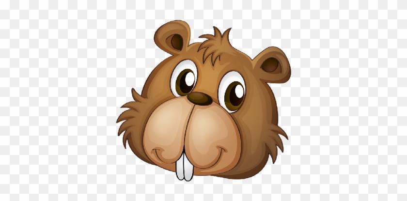 Cool Pictures Of Cute Elephants Cartoon Beaver Head - Cartoon Beaver Face Png #582304