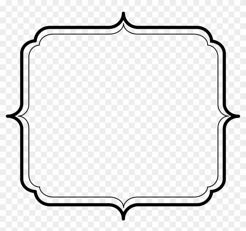 Free Frames - Simple Frame Border Png Hd #582414