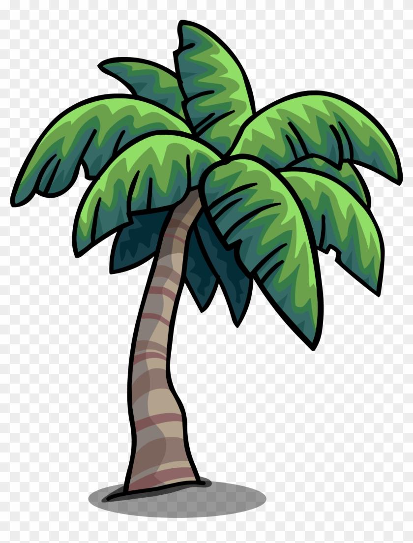 Tropical Palm Sprite 004 - Tropical Palm Tree Cartoon #582554