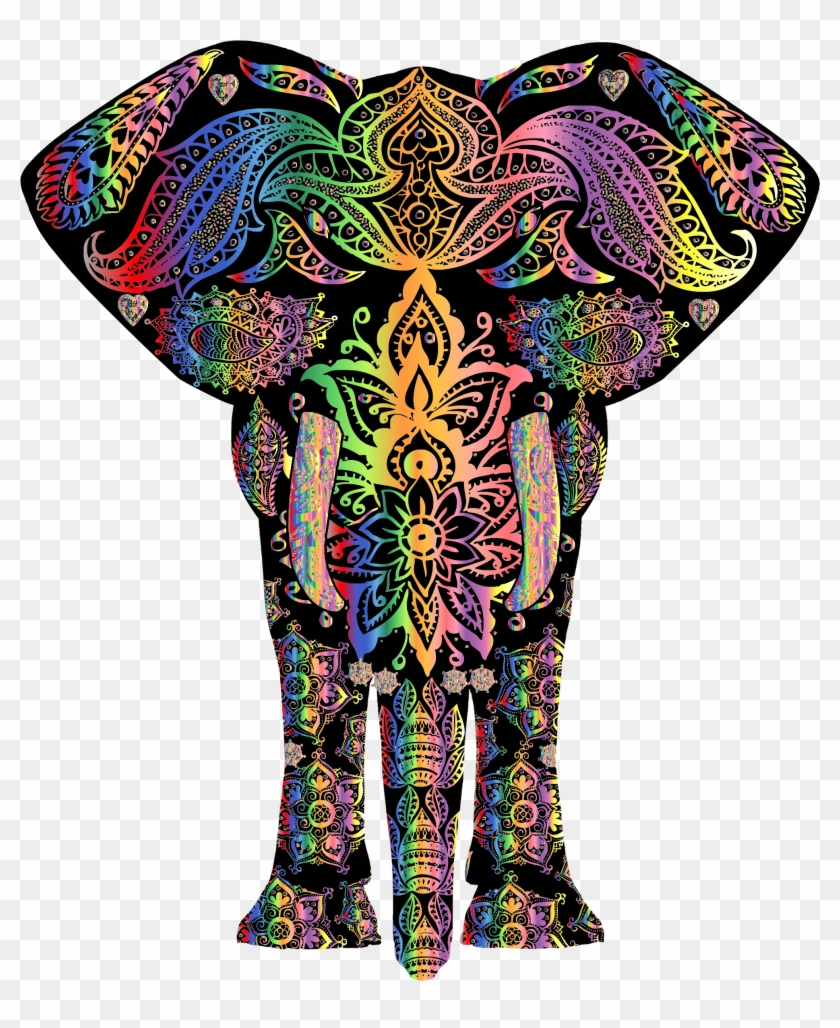 Big Image - Colorful Pictures Of Elephants #582822
