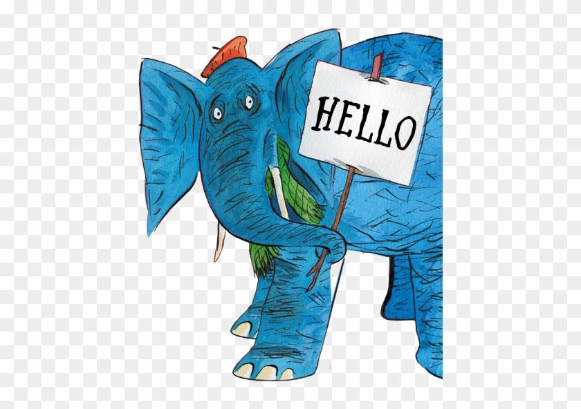 Indian Elephant The Slightly Annoying Elephant African - Elephants #582920