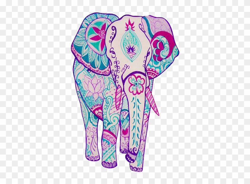 Elephant Art And Wallpaper Image