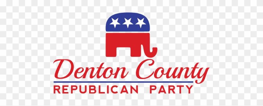 Denton County Republican Party - Republican Elephant Logo Png #583238