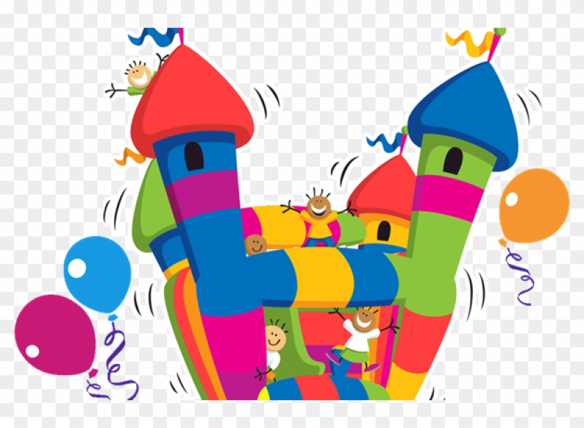 Party Rentals - Bounce House Clip Art #583352
