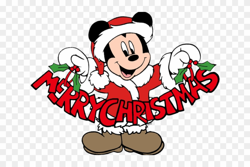 disney clipart merry christmas mickey mouse merry christmas - Merry Christmas Mickey Mouse