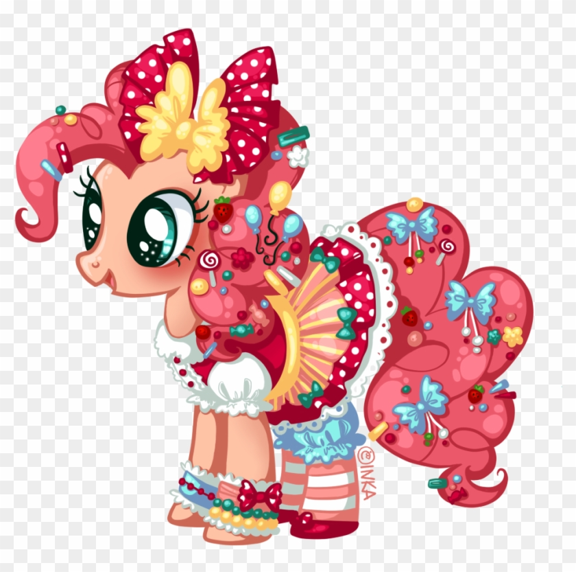 Frogmakesart, Balloon, Bow, Candy, Clothes, Dress, - My Little Pony Pinkie Pie Dress #583797