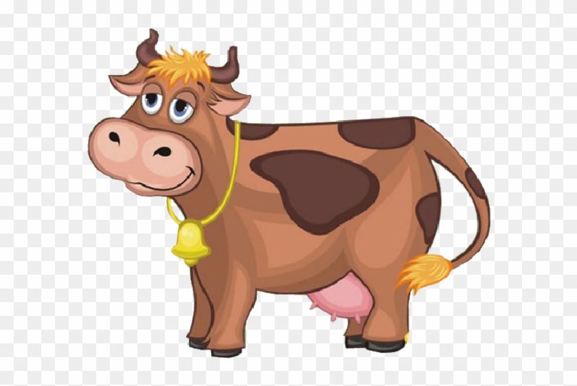 Cartoon Farm Animals Cow #584019