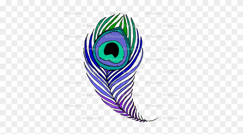 Very Large Peacock Feather Peacock Feather Coloring Page Free