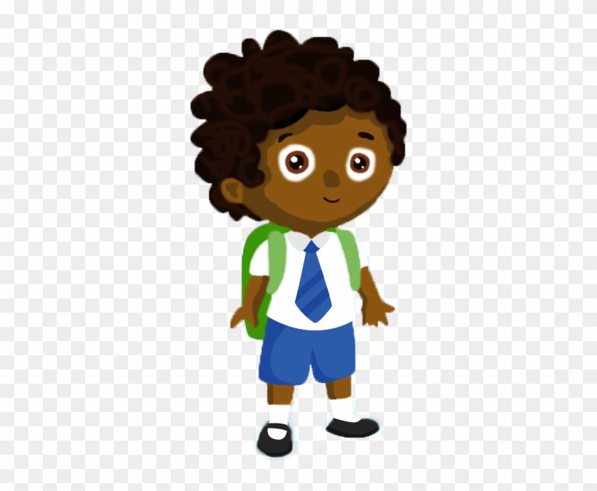 Meet The Boys - Little Student Boy Cartoon #584644