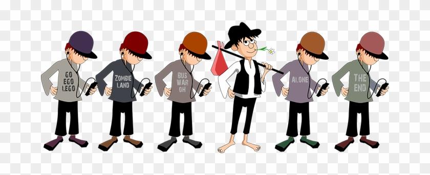 Boy Comic Characters Lad Past And Present - การ์ตูน เด็ก ช่าง Png #584647