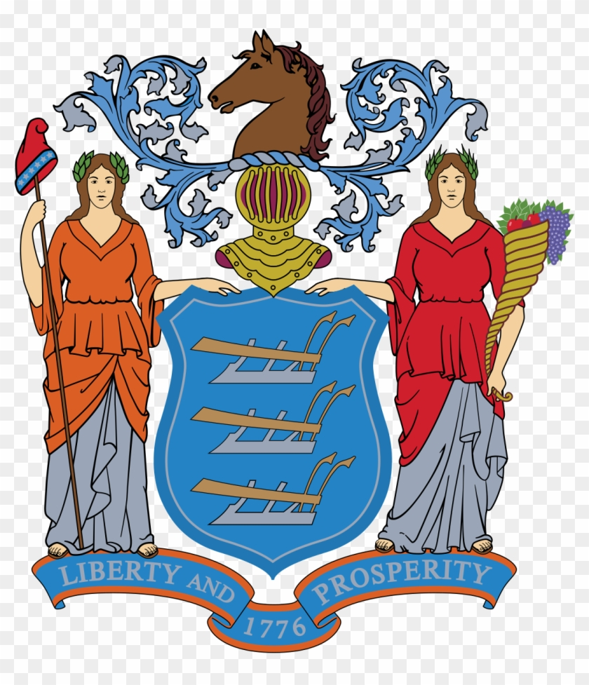 Coat Of Arms Of The State Of New Jersey - New Jersey Department Of Education #584971