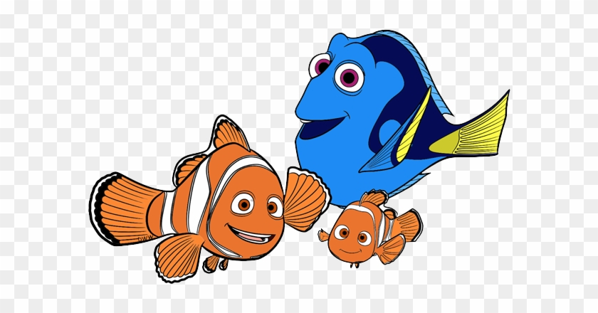 Finding Dory Clip Art Disney Clip Art Galore Rh Disneyclips - Marlin Nemo And Dory #585017