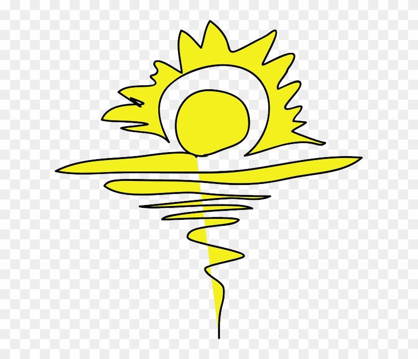 free water yellow drawing beach sun cartoon free summer rh clipartmax com Christian Clip Art Sunrise Sunset Religious Easter Clip Art