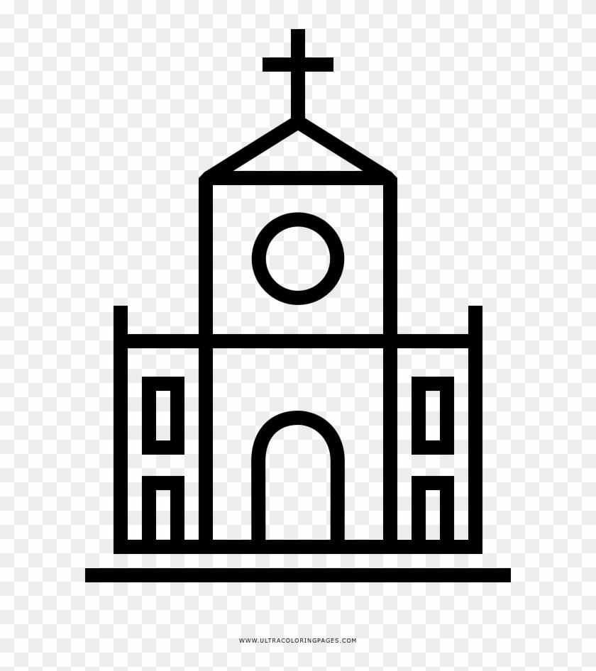 Dibujo De Iglesia Para Colorear Igreja Desenho Para Colorir