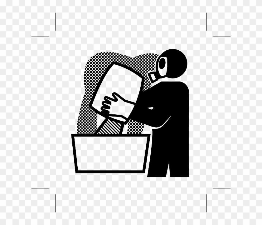 Icon Respirator, Gas Mask, Sign, Symbol, Icon - Poison #585380