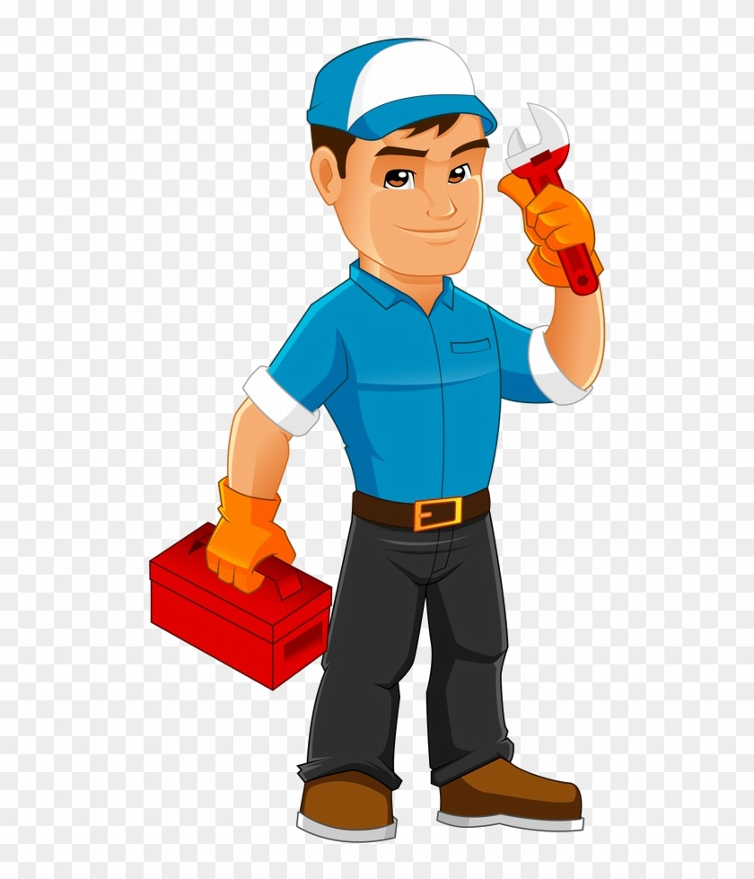 With Budget-friendly Rates For Repair Services, You - Cartoon Maintenance Worker Png #585893