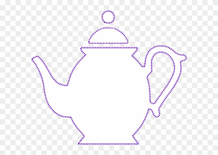 Teapot Clip Art At Vector Clip Art - Oh What A Lovely Tea Party #586764
