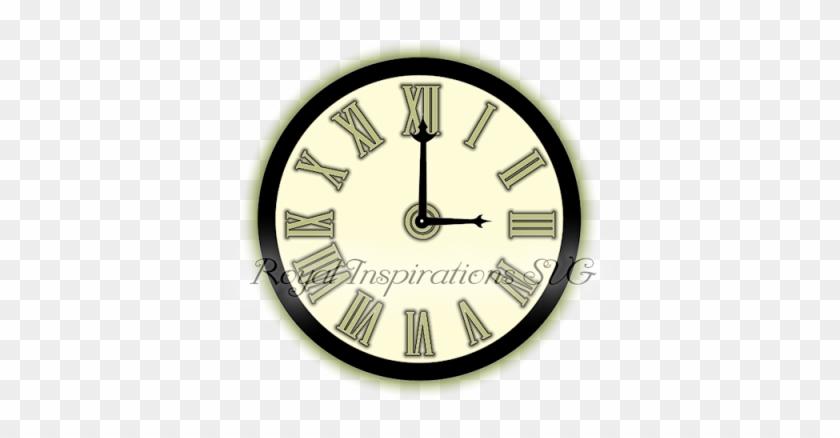 Clock With Roman Numerals, Free Svg, Royalinspirationssvg
