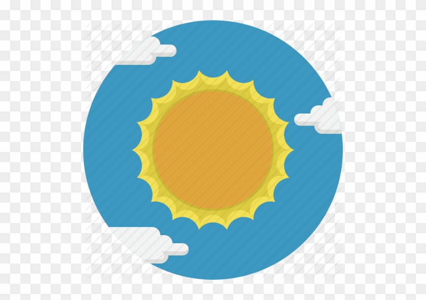 Sunny Weather Gifs Search - Weather Circle Icon Png 512 #588283