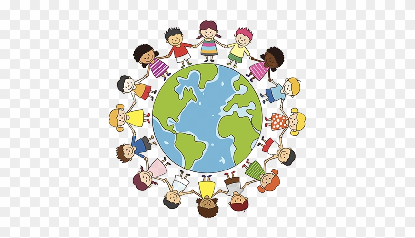Child Care Columbia, Sc - Earth With Children Holding Hands #588575