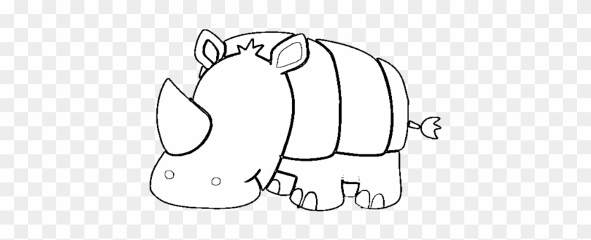 photo about Rhino Printable known as Most up-to-date Rhino Coloring Webpages Printable Youngster Site Coloring