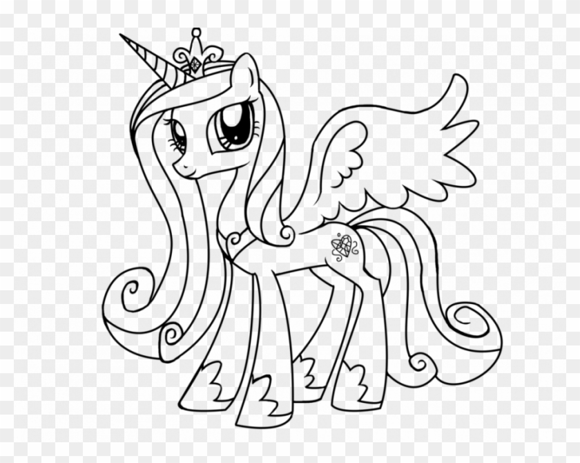 Finest My Little Pony Princess Twilight Sparkle Coloring - My Little Pony  Princess Cadence Coloring Pages - Free Transparent PNG Clipart Images  Download