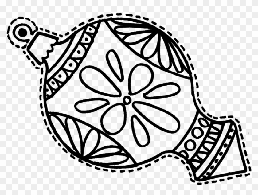 christmas decorations coloring pages free christmas ornament coloring page
