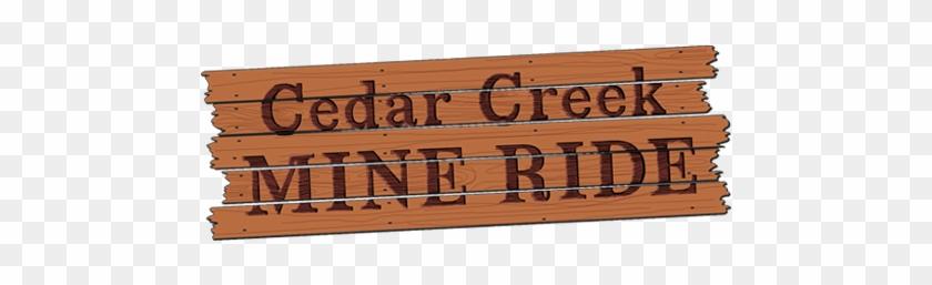 Cedar Creek Mine Ride - Mine Train Roller Coaster #588952