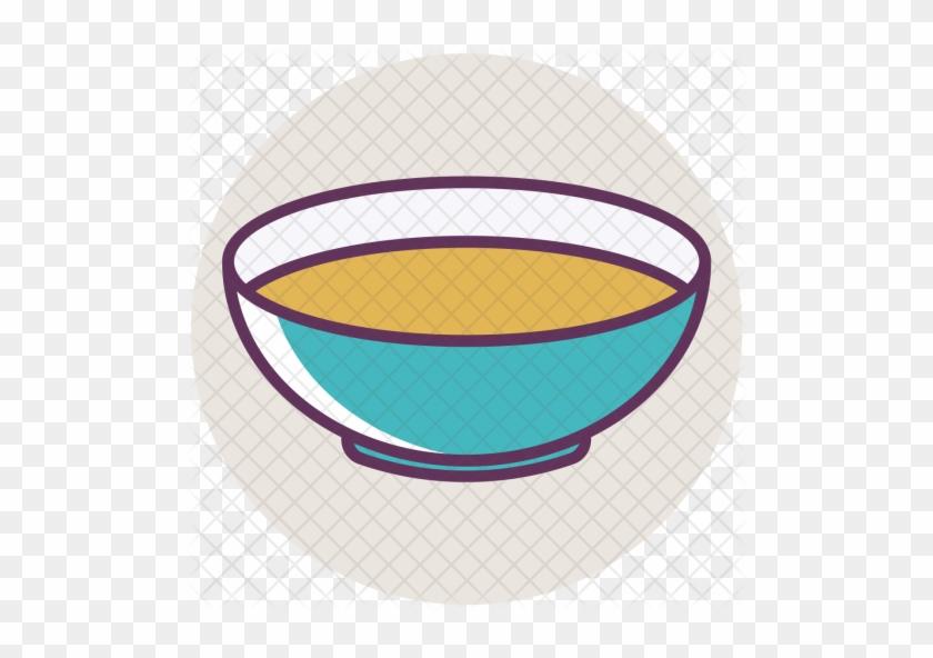Soup, Bowl, Dinner, Food, Light, Liquid, Plate Icon - Bowl #589083