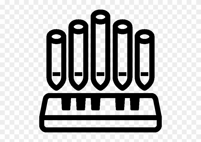 Music Pipe Organ Icon - Pipe Organ #103364