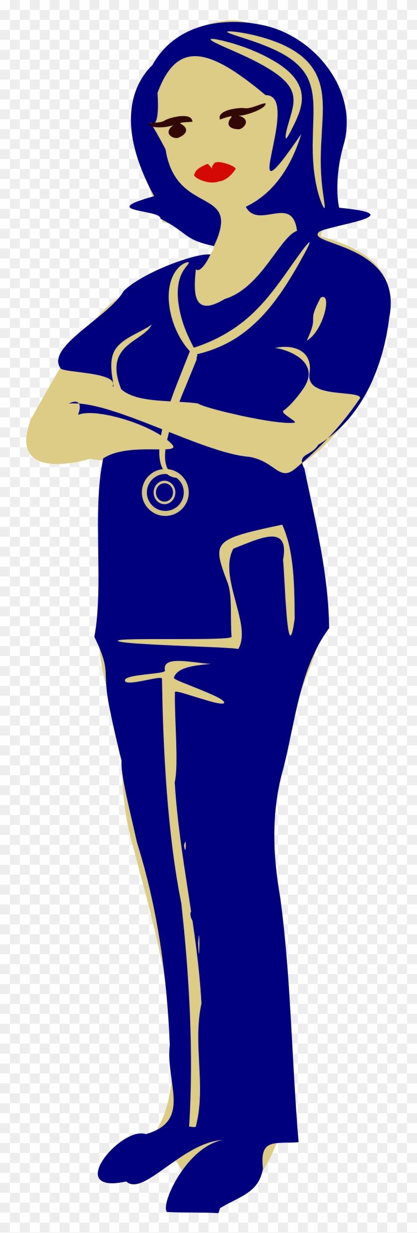 Clinical Nurse - Nurses Clip Art #103446