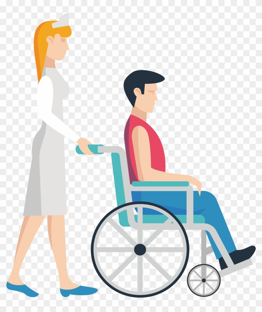 Nursing Wheelchair Clip Art - Nursing Wheelchair Clip Art #103450