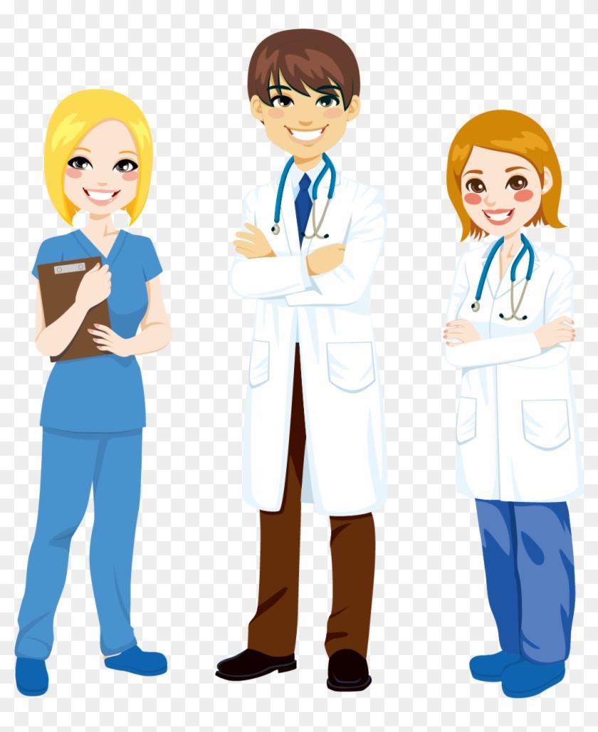 Nursing Cartoon Stock Photography Clip Art - Nurse In Scrubs Cartoon #103455