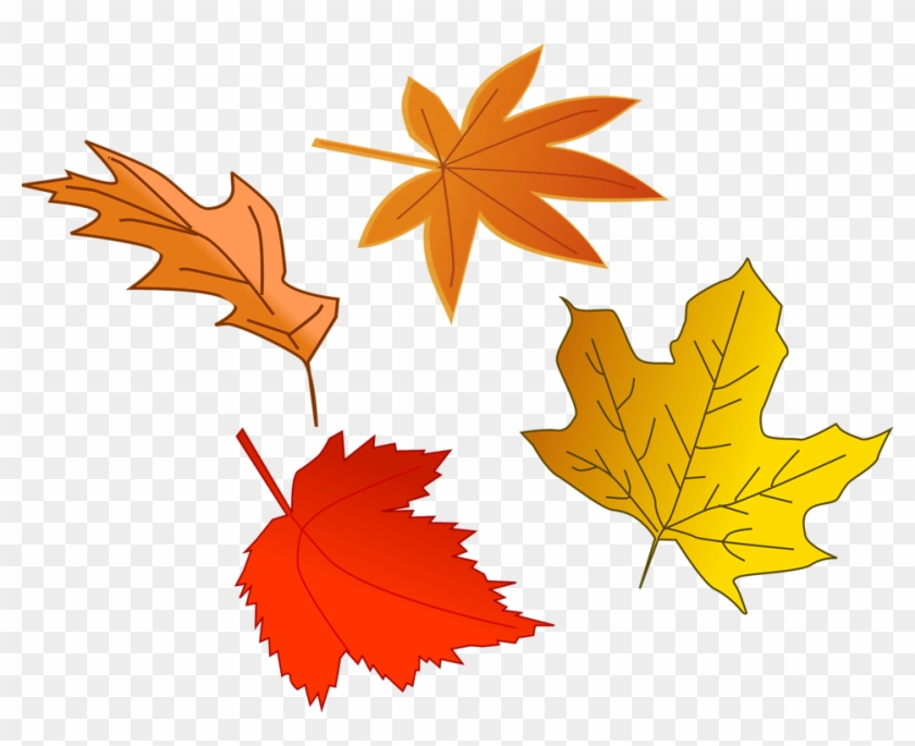 Click The Slide That You Want To Add A Background Picture - Leaves Falling Clip Art #103490