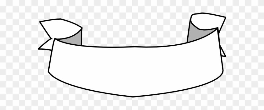 Ribbon Vector White Png #103491