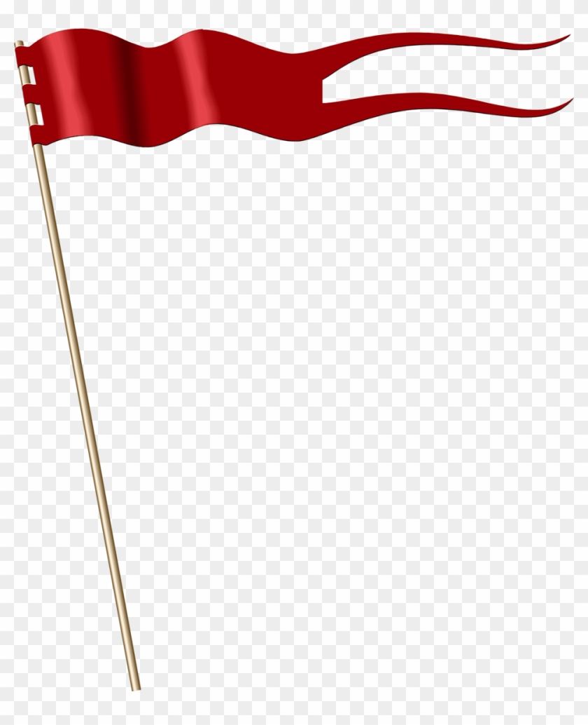 Free Flag Banner Clipart Transparent - Banner Flag Clipart #103493