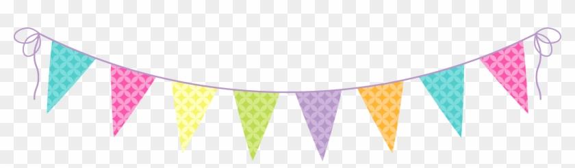 Flag Banner Clipart - Party Banner Clip Art #103564
