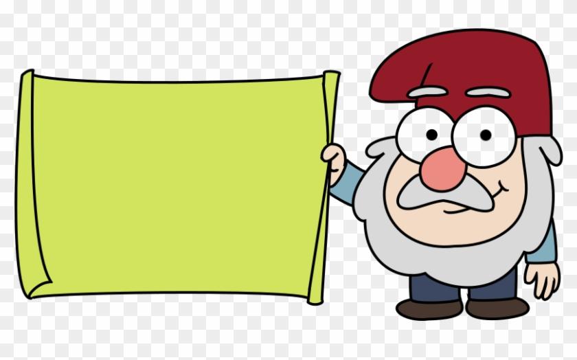 Gravity Falls Gnome By Moreeni On Deviantart - Gravity Falls Gnome Png #103579