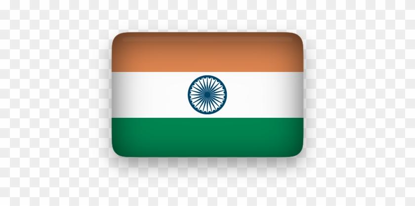 India Flag Clipart Rectangular - India Flag Icon Png #103617