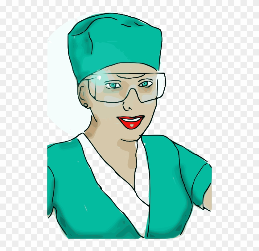 Free Enrolled Scrub Nurse - Nursing 5x7 Flat Cards #103618