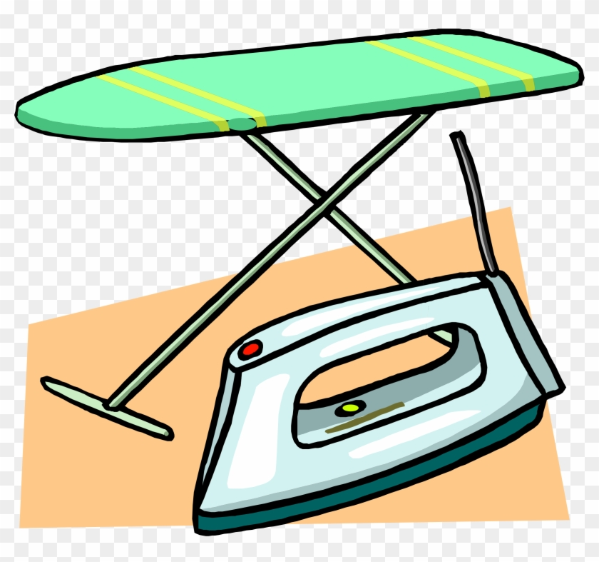 Big Image - Ironing Board And Iron #103664