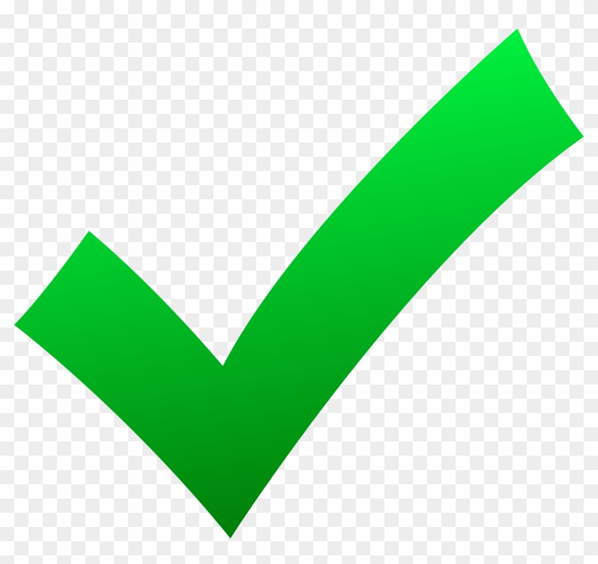 Free Clipart Check Mark Symbol - Free Clipart Check Mark Symbol #103721
